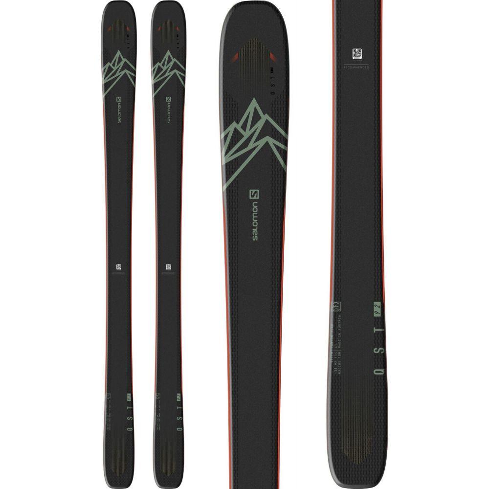 【T-ポイント5倍】 サロモン Salomon メンズ スキー メンズ・スノーボード ボード・板 skis【qst 92 92 skis 2021】Black/Oil Green/Orange, 揖保郡:64beeb51 --- spanienfan.de