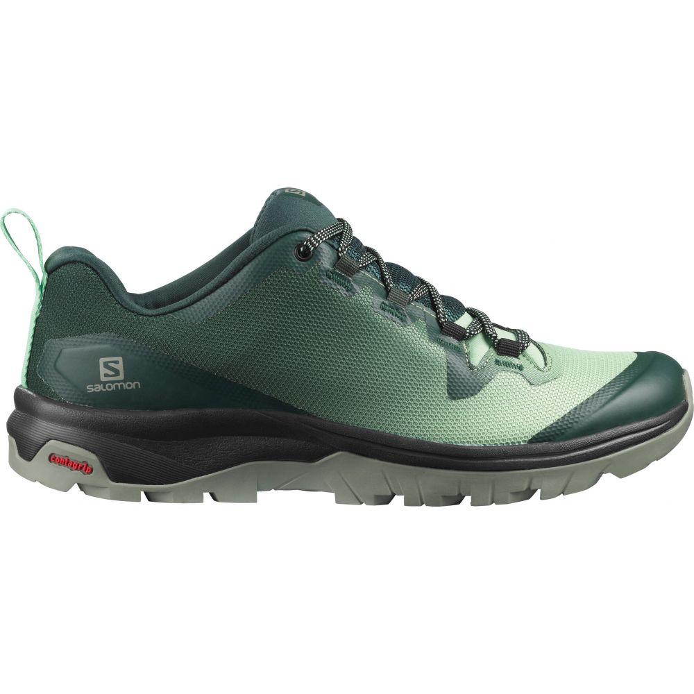 サロモン Salomon レディース ハイキング・登山 シューズ・靴【Vaya Hiking Shoes】Green Gables/Spruce Stone/Shadow