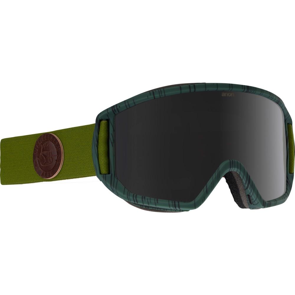アノン メンズ スキー・スノーボード ゴーグル【Relapse MFI Second Goggles 2018】H C S C/ Dark Smoke And Amber Lens