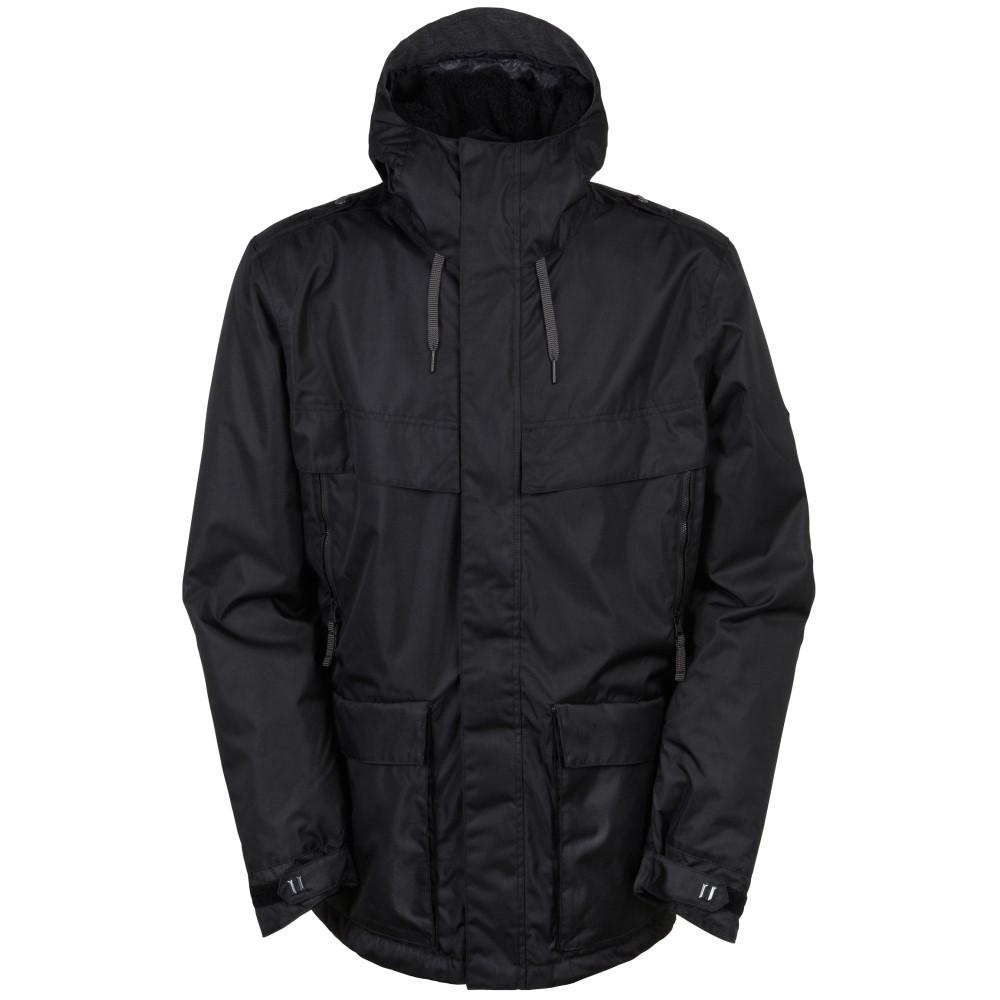 シックス エイト シックス メンズ スキー・スノーボード アウター【Field Snowboard Jacket】Black