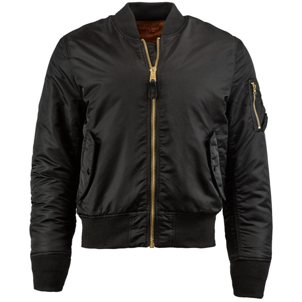 アルファ インダストリーズ メンズ アウター ブルゾン【MA-1 Slim Fit Jacket】Black