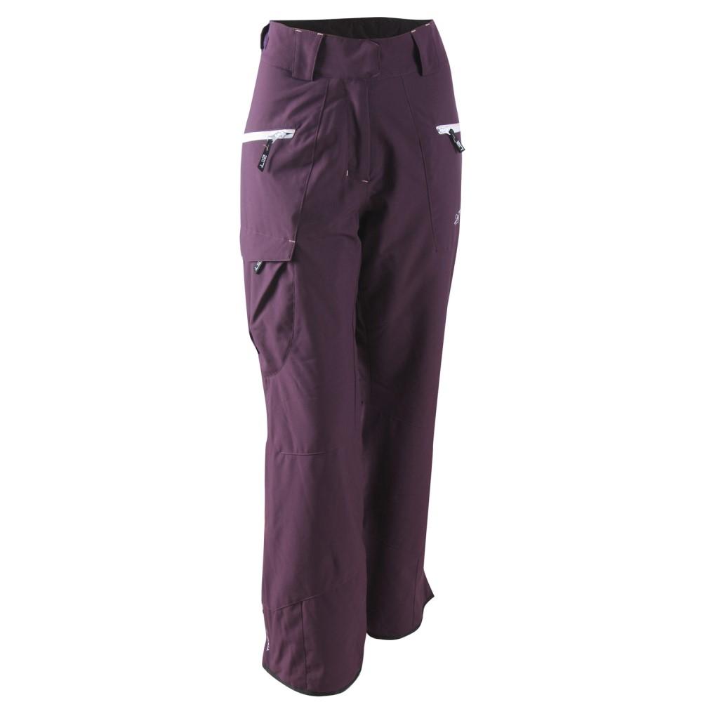 2117オブ スウェーデン レディース スキー・スノーボード ボトムス・パンツ【Angesa Snowboard/Ski Pants】Dark Plum/ White/ Old Pink Zip
