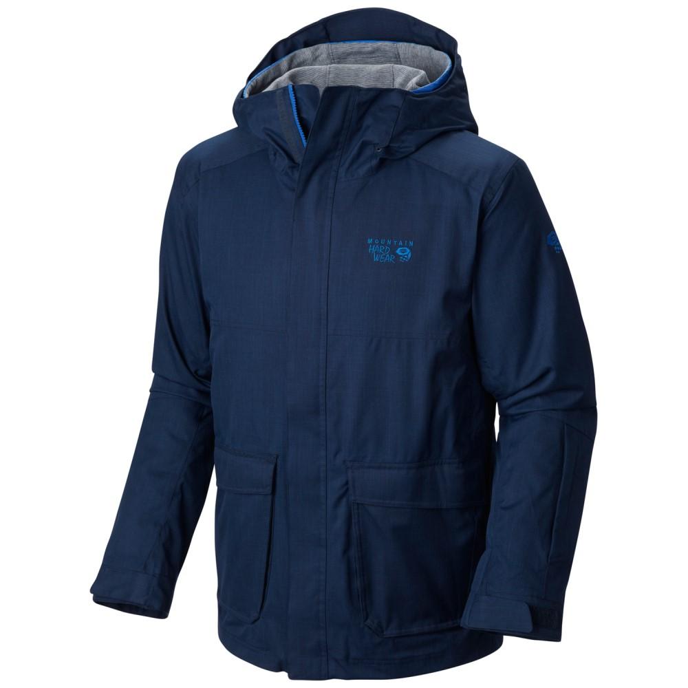 マウンテンハードウェア メンズ スキー・スノーボード アウター【Homeride Quadfecta Ski Jacket】Collegiate Navy/ Azul