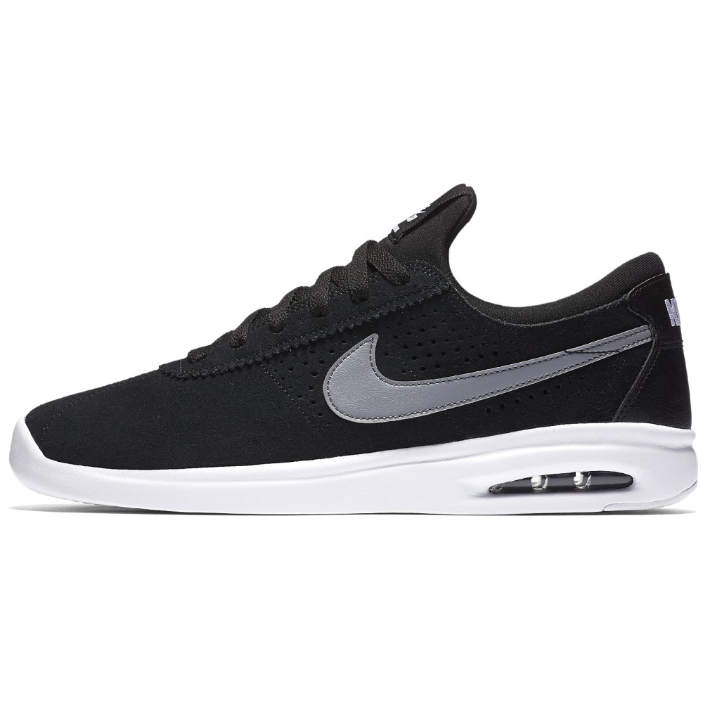 ナイキ メンズ シューズ・靴 スニーカー【SB Air Max Bruin Vapor Skate Shoes】Black/ Cool Grey/ White/ White