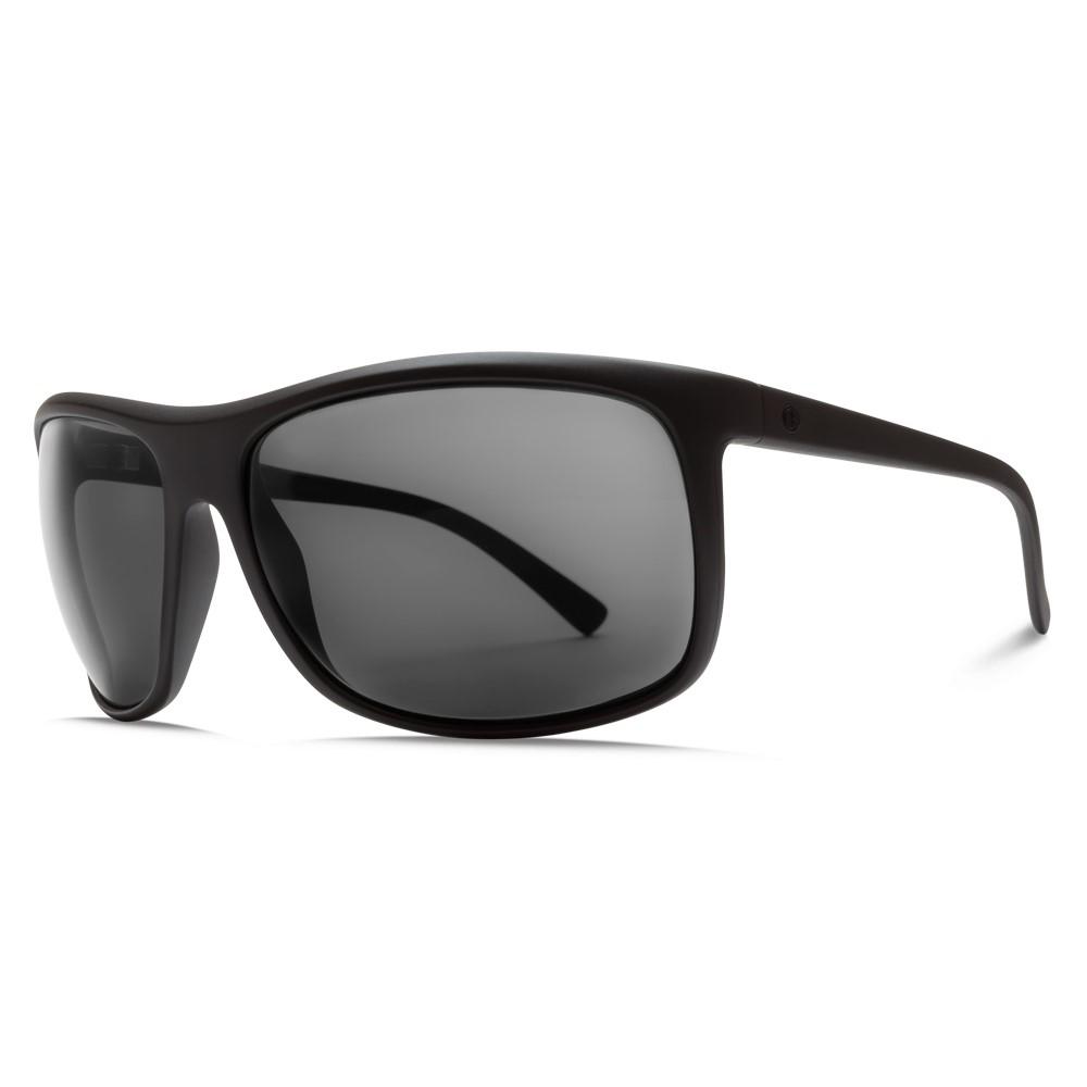 エレクトリック メンズ メガネ・サングラス【Outline Sunglasses】Matte Black/ Melanin Grey Polarized Level Lens