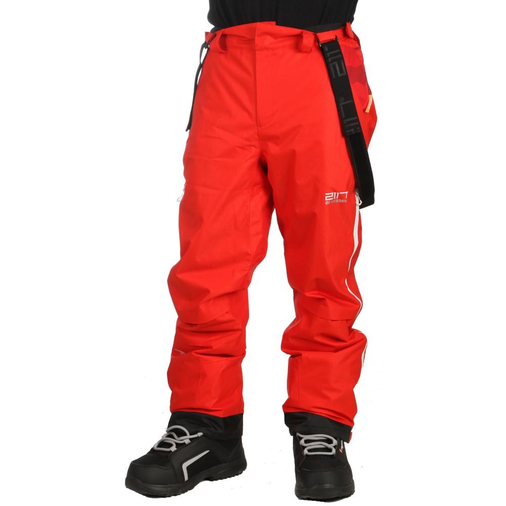 2117オブ スウェーデン メンズ スキー・スノーボード ボトムス・パンツ【Ope Eco Snowboard/Ski Pants 2018】Red