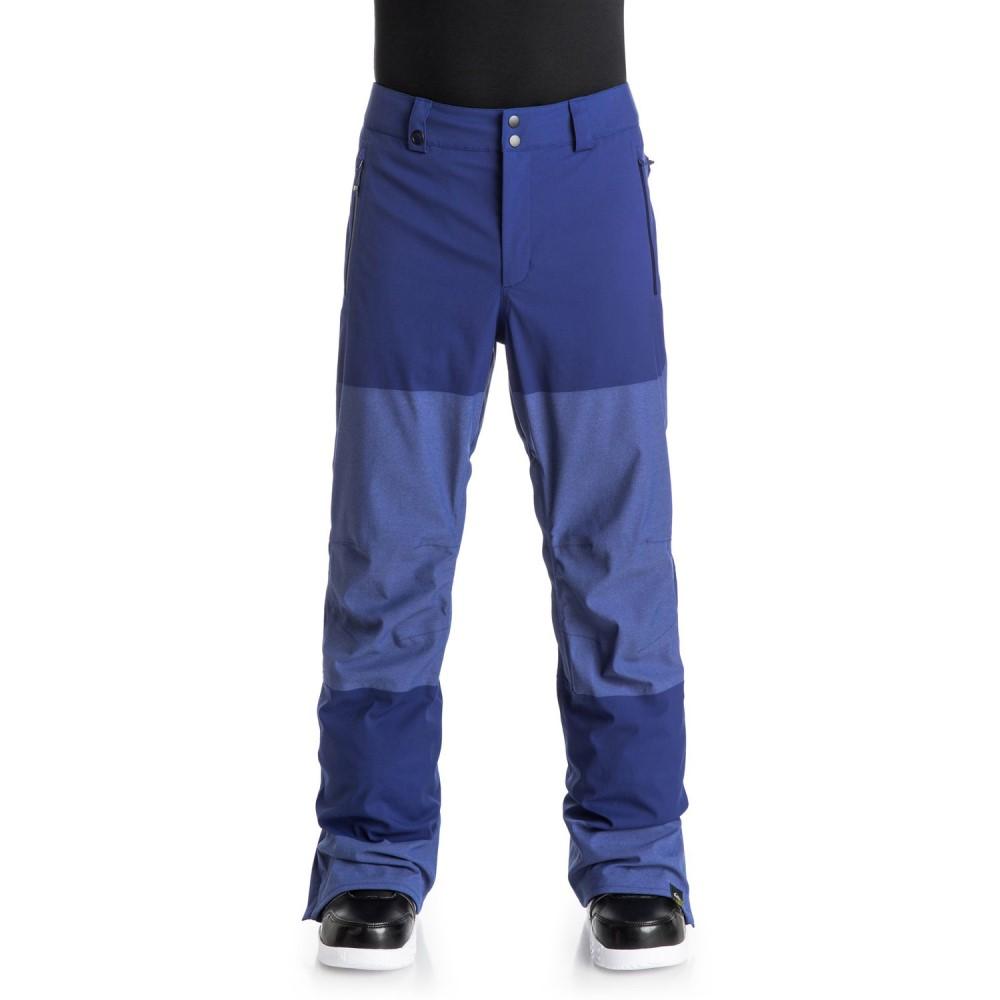 クイックシルバー メンズ スキー・スノーボード ボトムス・パンツ【Stamp Snowboard Pants】Sodalite Blue