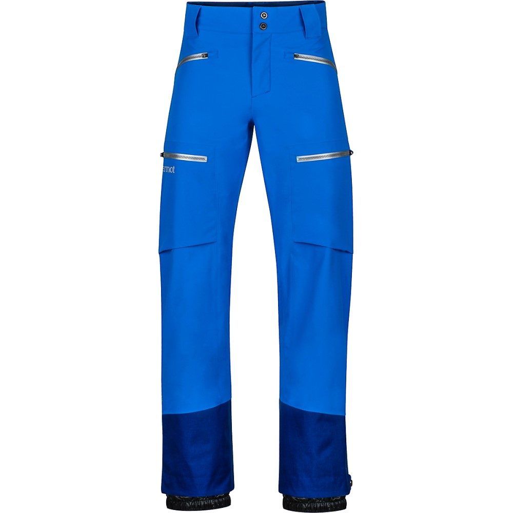 マーモット メンズ スキー・スノーボード ボトムス・パンツ【Freerider Ski Pants 2018】Clear Blue