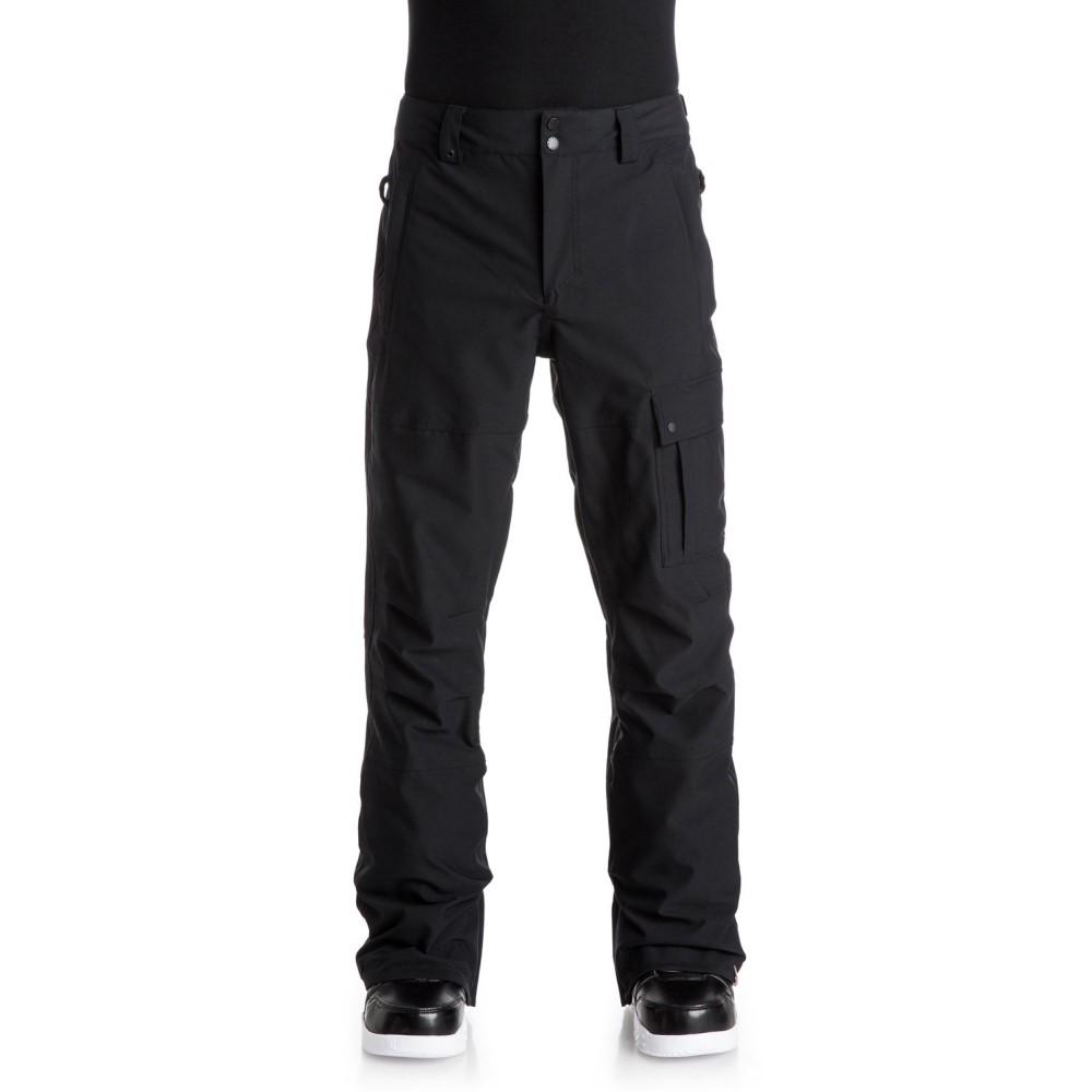 クイックシルバー メンズ スキー・スノーボード ボトムス・パンツ【Reason Snowboard Pants】Black