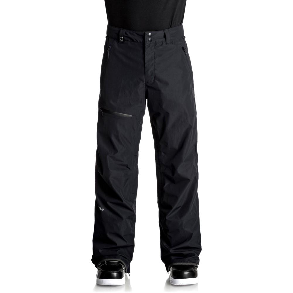 クイックシルバー メンズ スキー・スノーボード ボトムス・パンツ【Forever 2L Gore-Tex Snowboard Pants 2018】Black