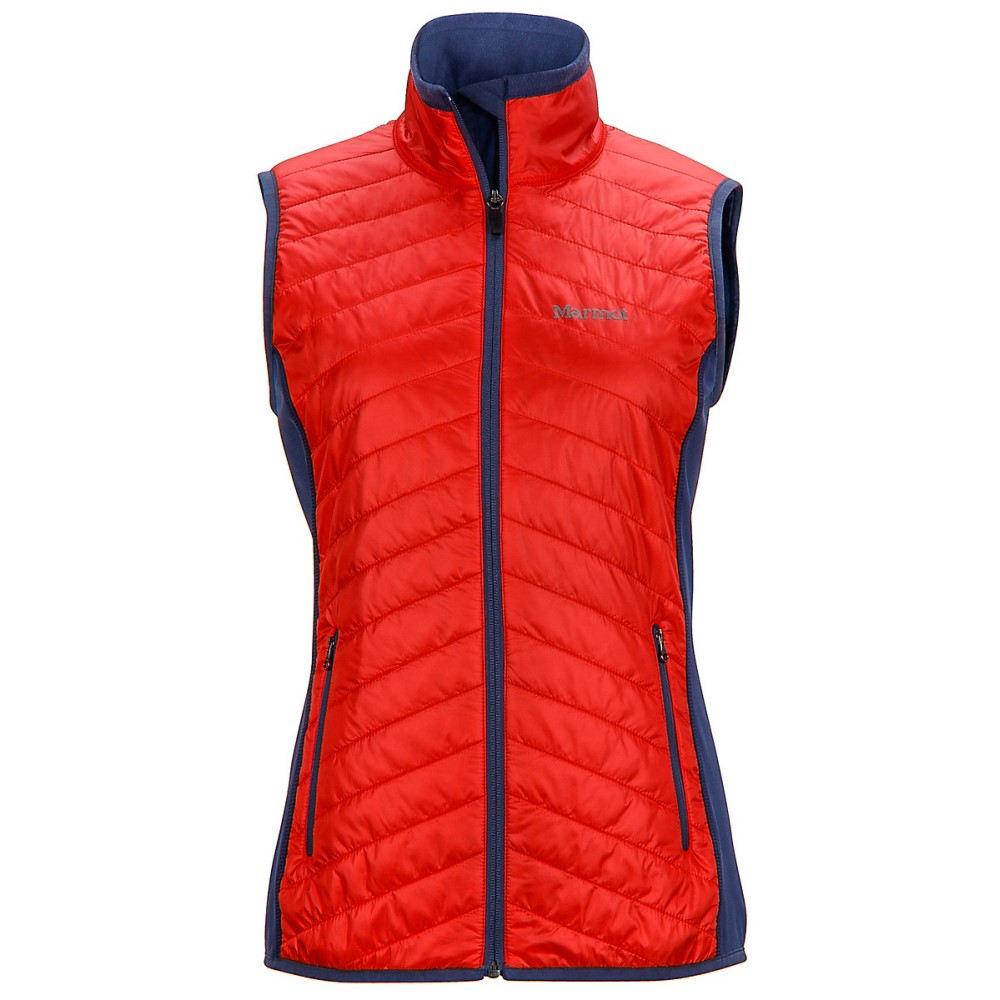 マーモット レディース トップス ベスト・ジレ【Variant Vest】Scarlet Red/ Monsoon
