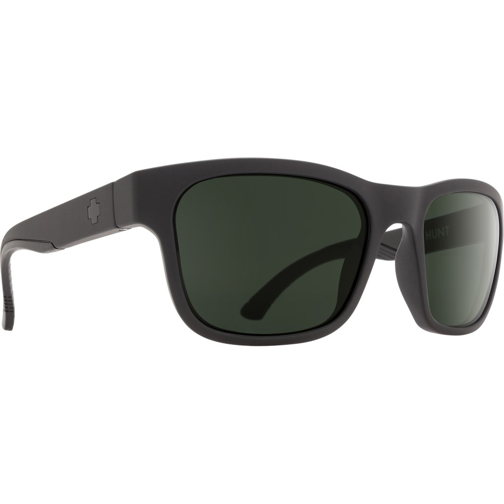 スパイ メンズ メガネ・サングラス【Hunt Sunglasses】Matte Black/ Happy Grey Green Lens