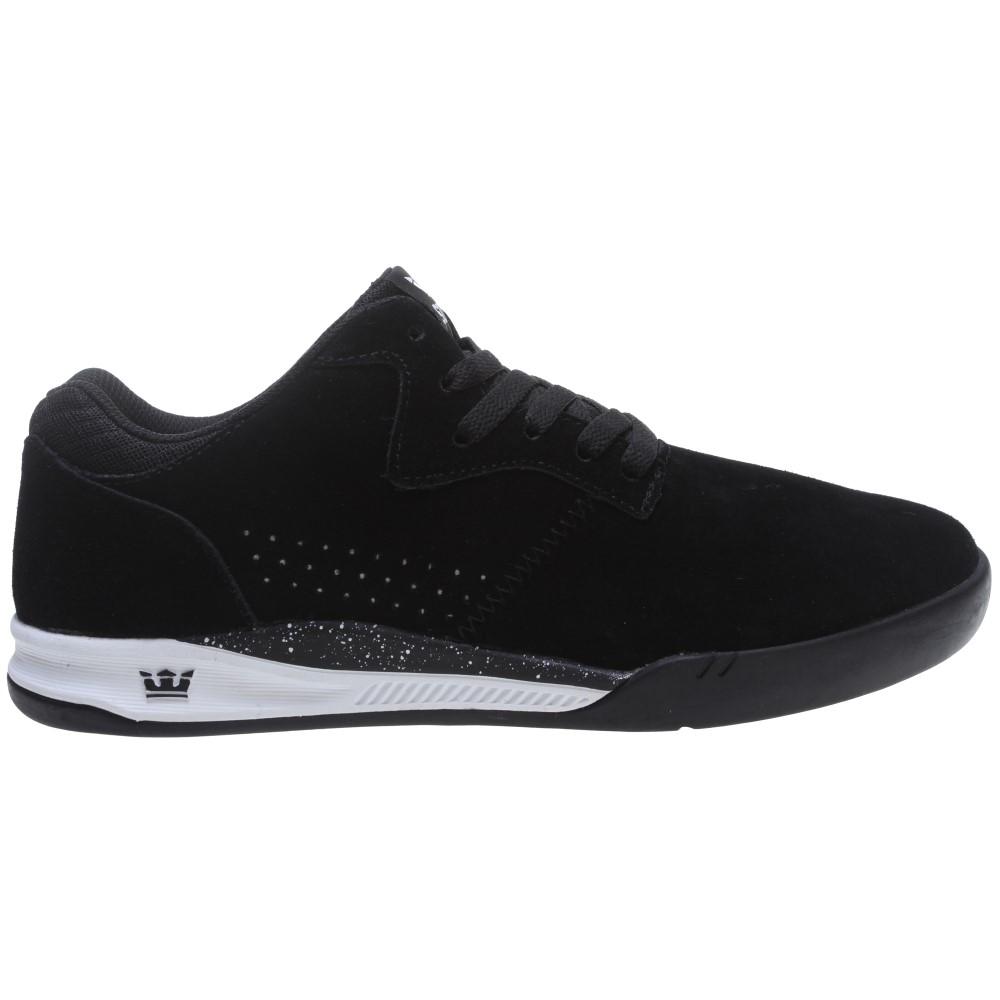 スープラ メンズ シューズ・靴 スニーカー【Quattro Skate Shoes】Black/ White
