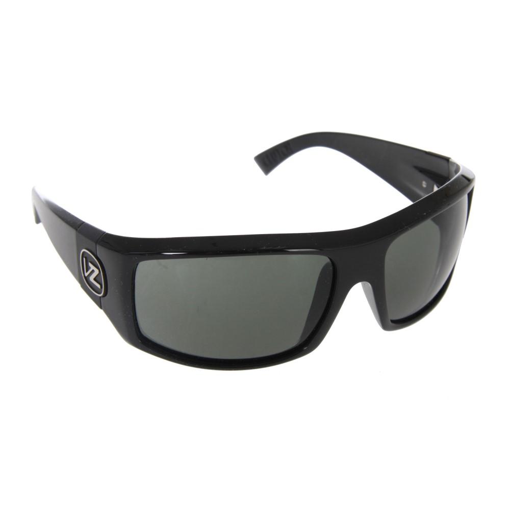ボンジッパー メンズ メガネ・サングラス【Clutch Sunglasses】Black Gloss Grey Lens