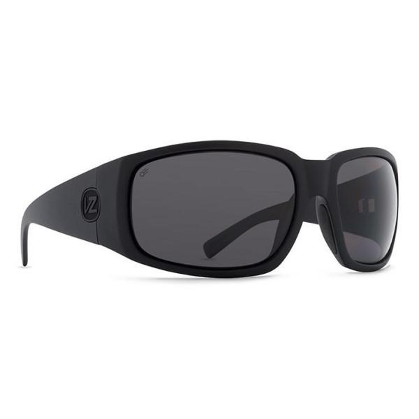 ボンジッパー メンズ メガネ・サングラス【Palooka Sunglasses】Black Satin/ Ansi Grey Polarized Lens