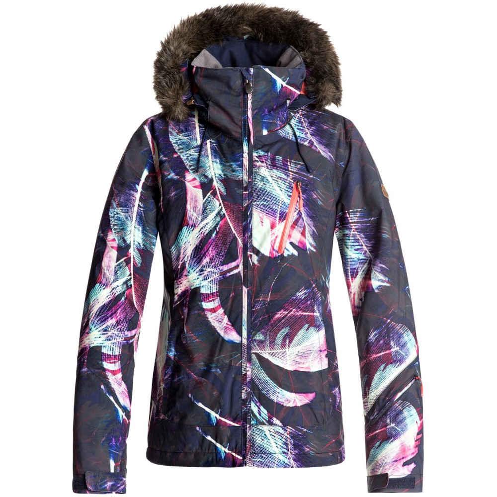 ロキシー レディース スキー・スノーボード アウター【Jet Ski Premium Snowboard Jacket 2018】Peacoat/ Seamless Feathers