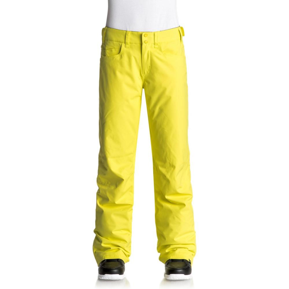 ロキシー レディース スキー・スノーボード ボトムス・パンツ【Backyard Snowboard Pants 2018】Lemon Tonic