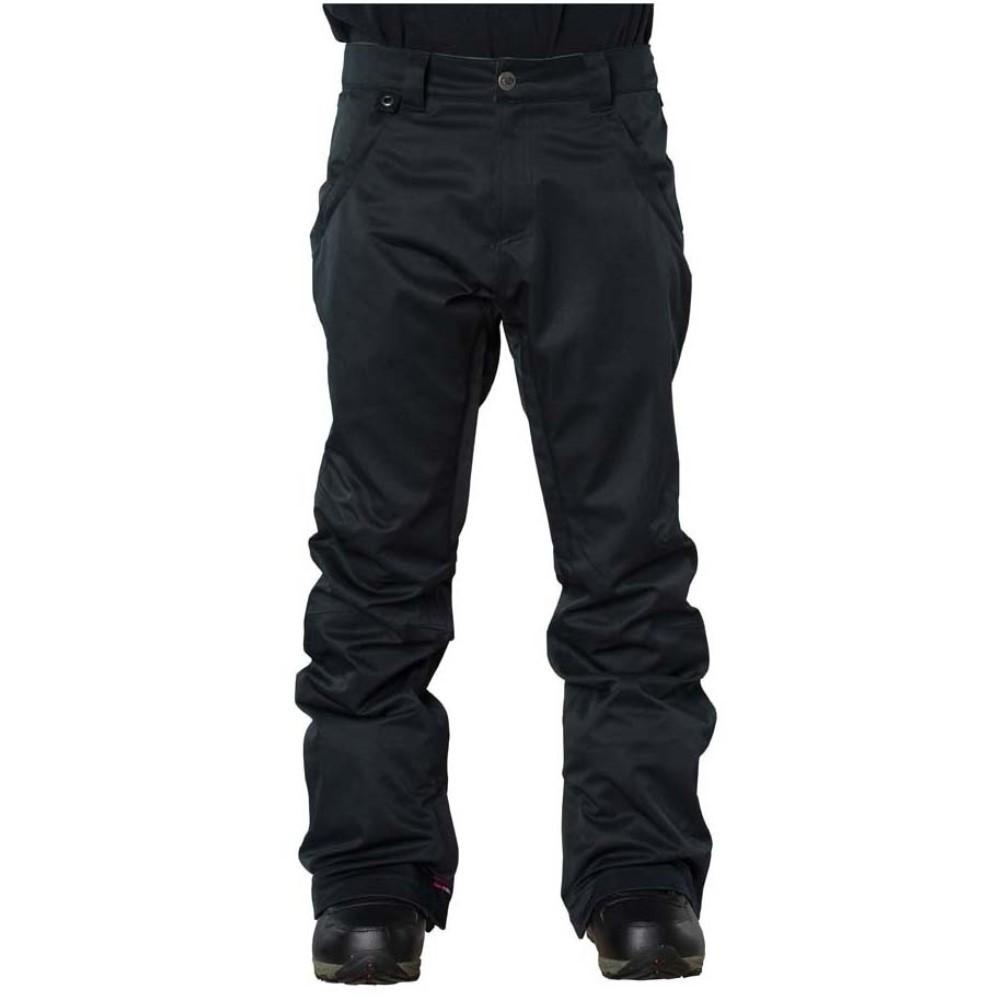 ボンファイヤー メンズ スキー・スノーボード ボトムス・パンツ【Morris Snowboard Pants】Black Denim
