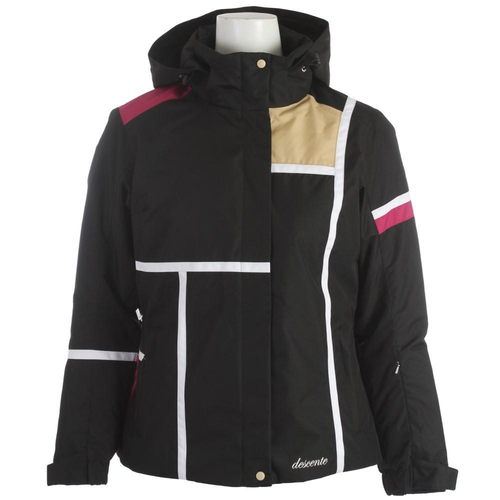 デサント レディース スキー・スノーボード アウター【Alexis Ski Jacket】Black