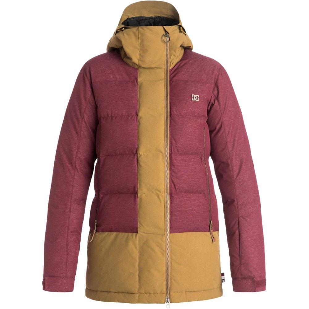 ディーシー レディース スキー・スノーボード アウター【Liberty Snowboard Jacket】Cordovan Red