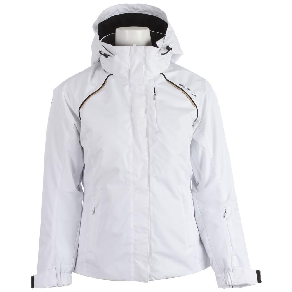 デサント レディース スキー・スノーボード アウター【Phoebe Ski Jacket】Super White