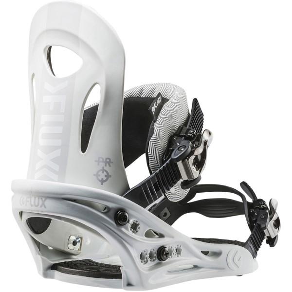 フラックス メンズ スキー・スノーボード ビンディング【PR Snowboard Bindings 2018】White