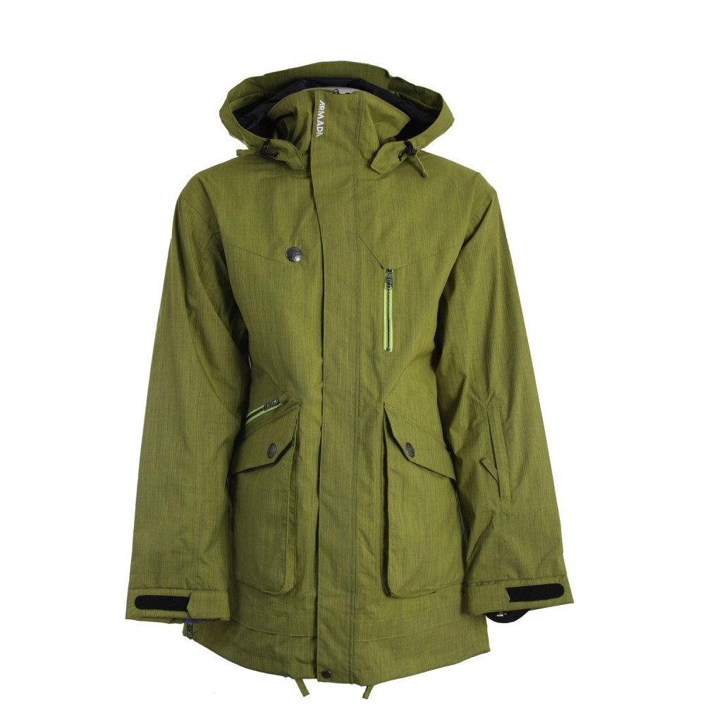 アルマダ メンズ スキー・スノーボード アウター【Range Ski Jacket】Lime