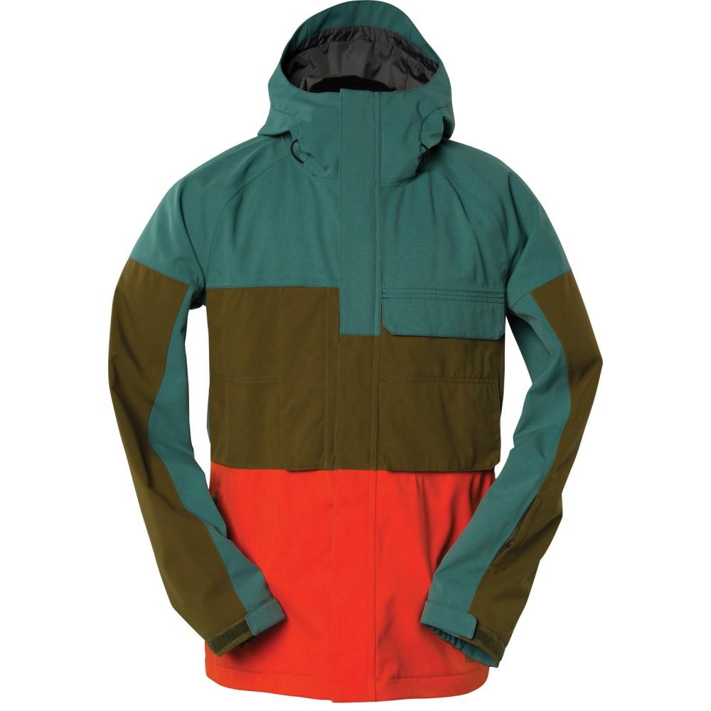 ボンファイヤー メンズ スキー・スノーボード アウター【Santiam Snowboard Jacket】Balsam