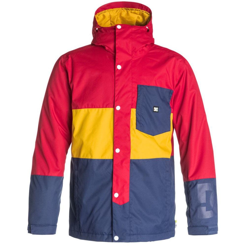 最新な ディーシー Red Snowboard メンズ スキー・スノーボード アウター【Defy ディーシー Snowboard Jacket】Tango Red, ボブアンテナ:9483675c --- canoncity.azurewebsites.net