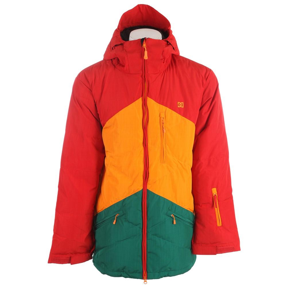ディーシー メンズ スキー・スノーボード アウター【Stage Snowboard Jacket】Chinese Red