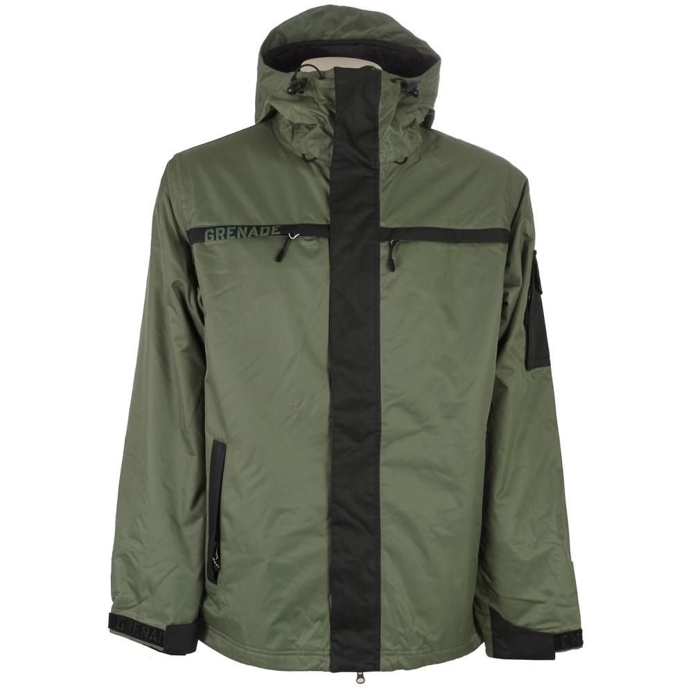 グレネード メンズ スキー・スノーボード アウター【Exploiter Snowboard Jacket】Army