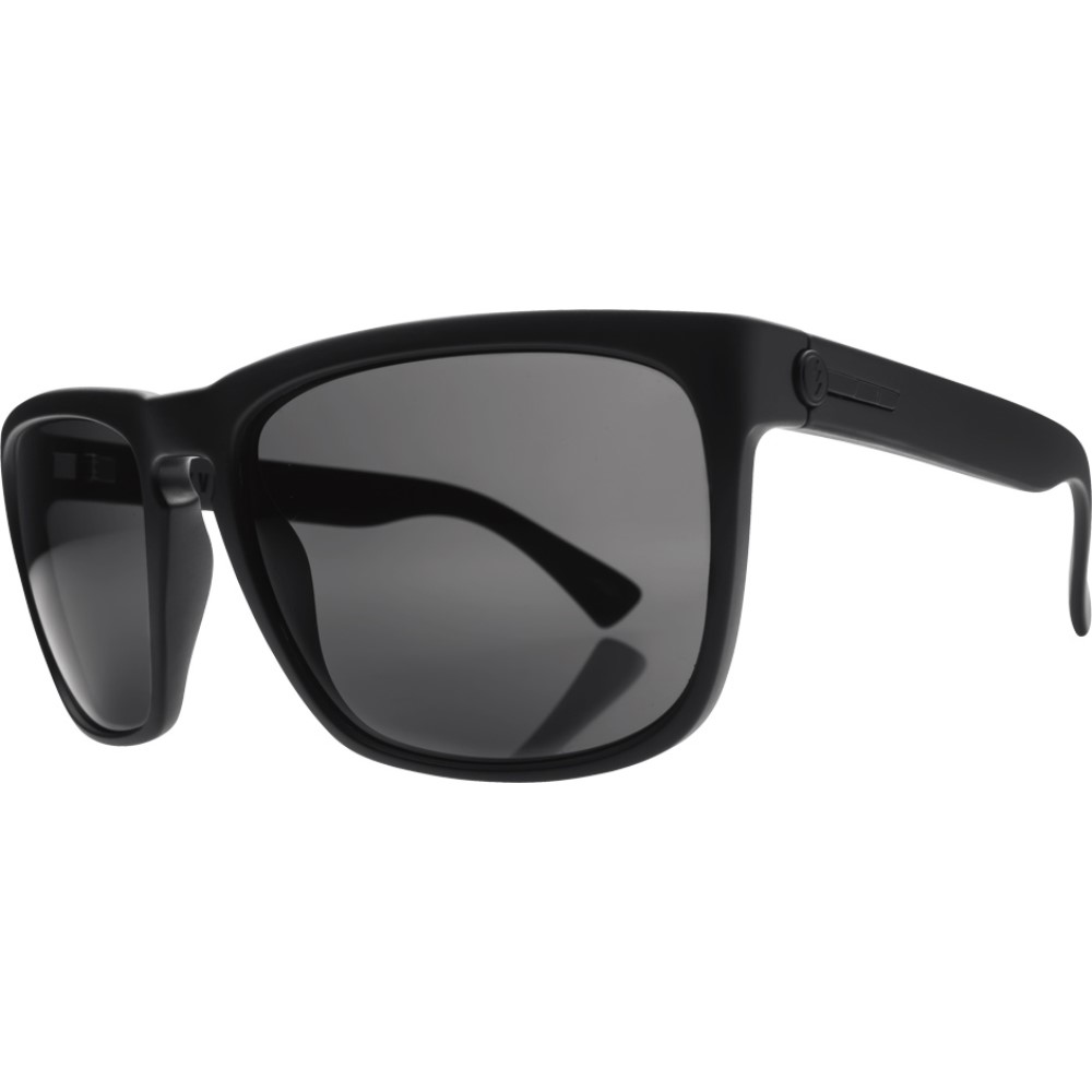 エレクトリック メンズ メガネ・サングラス【Knoxville XL Sunglasses】Matte Black/ M Grey Lens