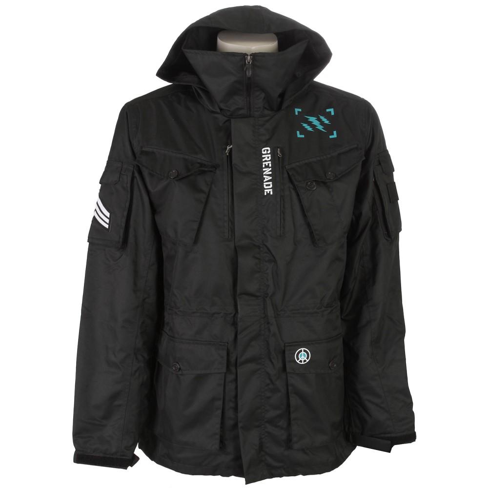グレネード メンズ スキー・スノーボード アウター【M65 Snowboard Jacket】Black