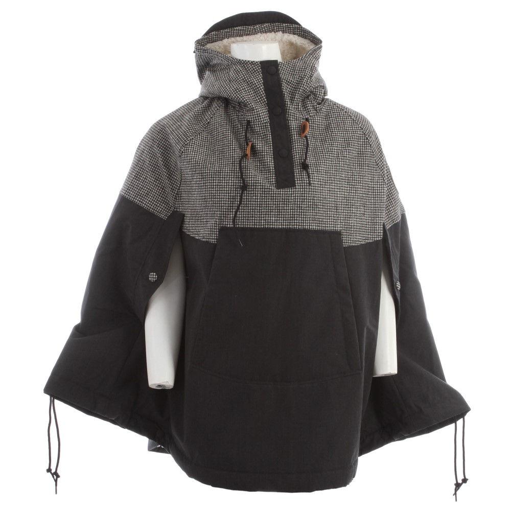 ホールデン レディース アウター レインコート【Goodwin Cape Jacket】Black