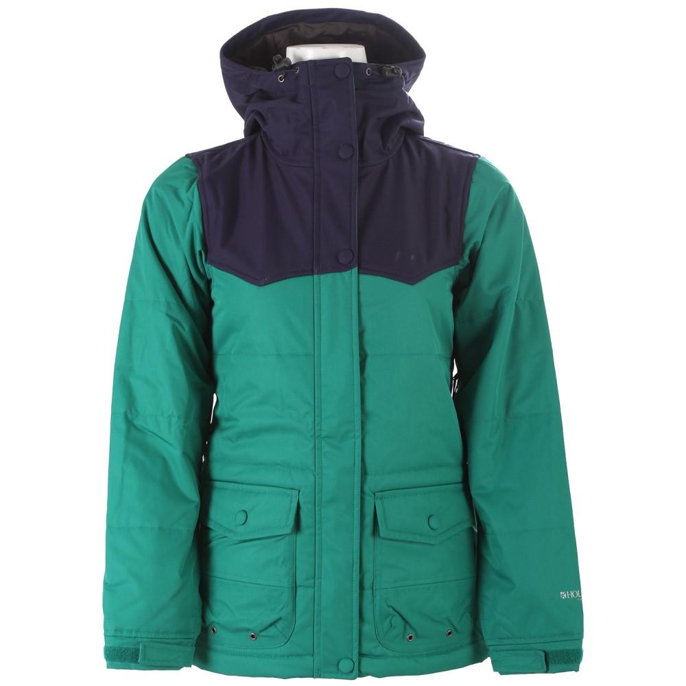 ホールデン レディース スキー・スノーボード アウター【Louisa Snowboard Jacket】Ultramarine Green/ Peacoat