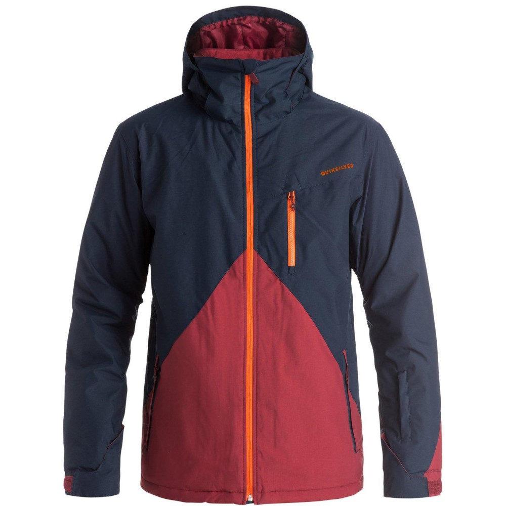 クイックシルバー メンズ スキー・スノーボード アウター【Mission Colorblock Snowboard Jacket】Sodalite Blue