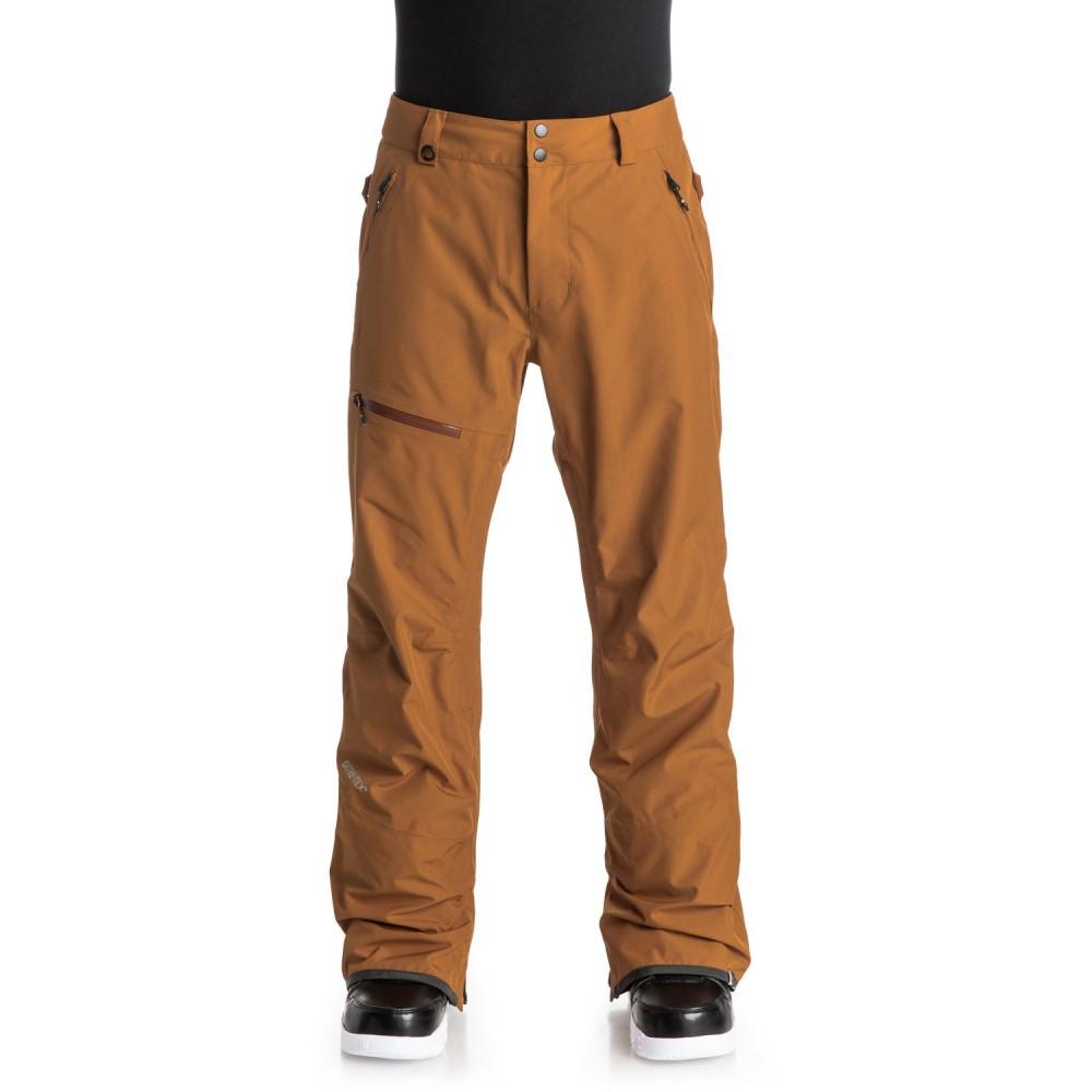 クイックシルバー メンズ スキー・スノーボード ボトムス・パンツ【Forever 2L Gore-Tex Snowboard Pants】Pumpkin Spice