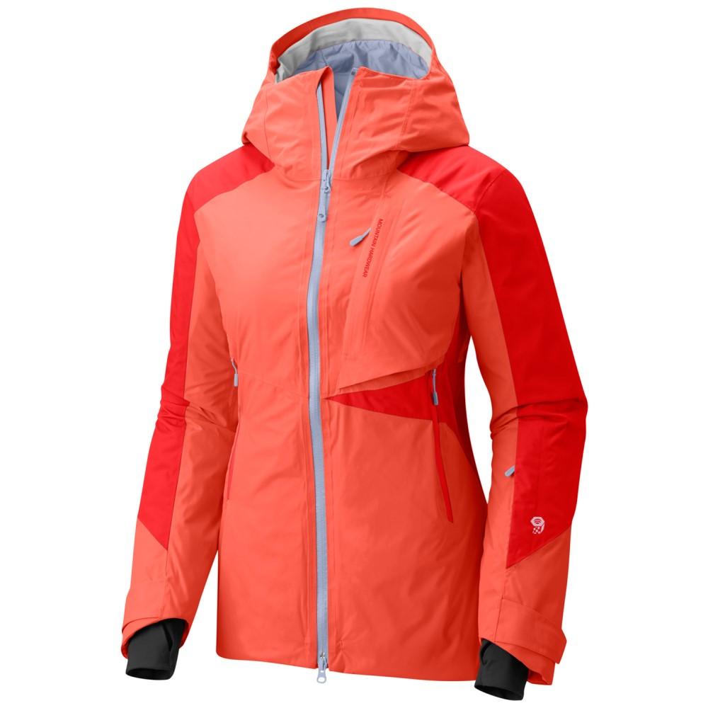 マウンテンハードウェア レディース スキー・スノーボード アウター【Polara Insulated Ski Jacket 2018】Bright Ember/ Fiery Red