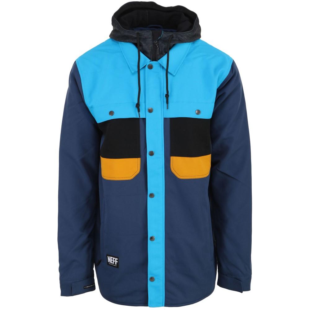 ネフ メンズ スキー・スノーボード アウター【Mack Softshell Snowboard Jacket】Navy