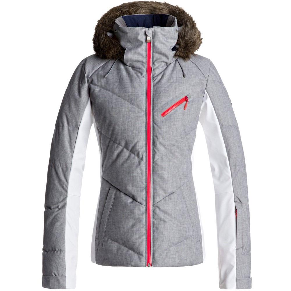 ロキシー レディース スキー・スノーボード アウター【Snowstorm Snowboard Jacket 2018】Heritage Heather