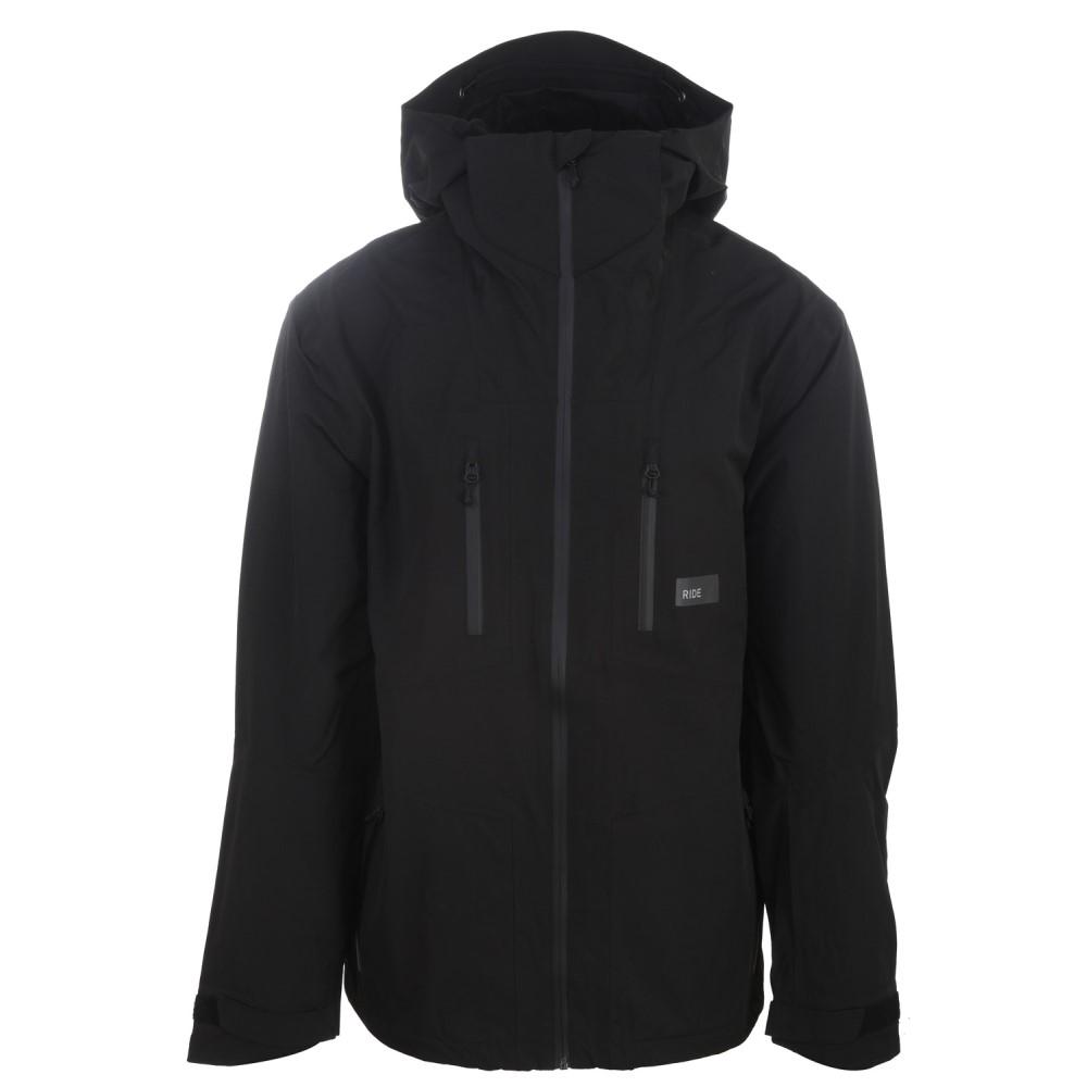 ライド メンズ スキー・スノーボード アウター【Forge Snowboard Jacket】Black/ Charcoal