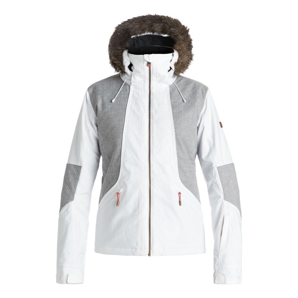 ロキシー レディース スキー・スノーボード アウター【Atmosphere Snowboard Jacket】Bright White