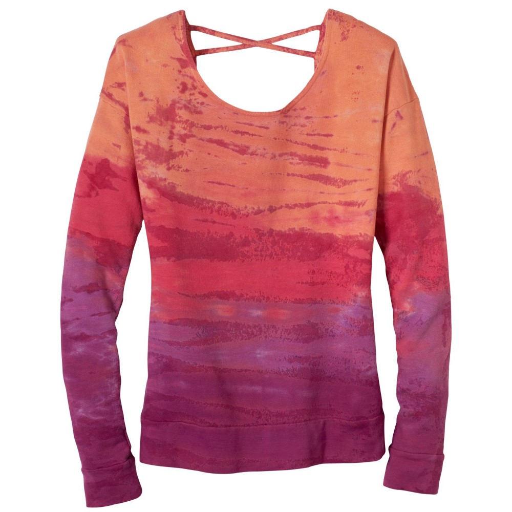 プラーナ レディース トップス スウェット・トレーナー【Deelite Sweatshirt】Light Red Violet