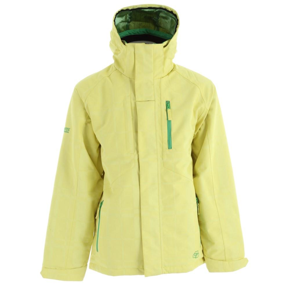 リップゾーン メンズ スキー・スノーボード アウター【Cyclone Snowboard Jacket】Lemon