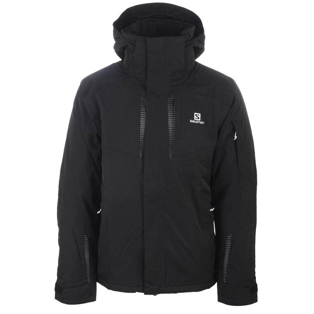 サロモン メンズ スキー・スノーボード アウター【Stormspotter Ski Jacket】Black