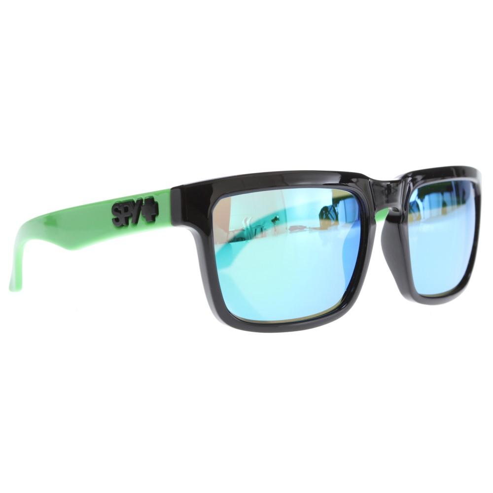 スパイ メンズ メガネ・サングラス【Helm Sunglasses】Greyw/ Green Spectra Lens