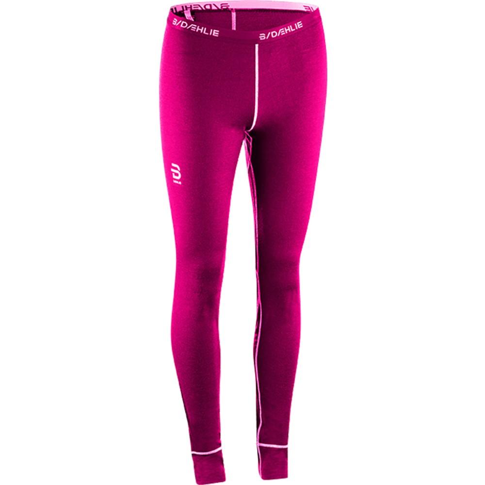 ビョルン ダーリ レディース スキー・スノーボード ボトムス・パンツ【TrainingWool Baselayer Pants 2018】Pink