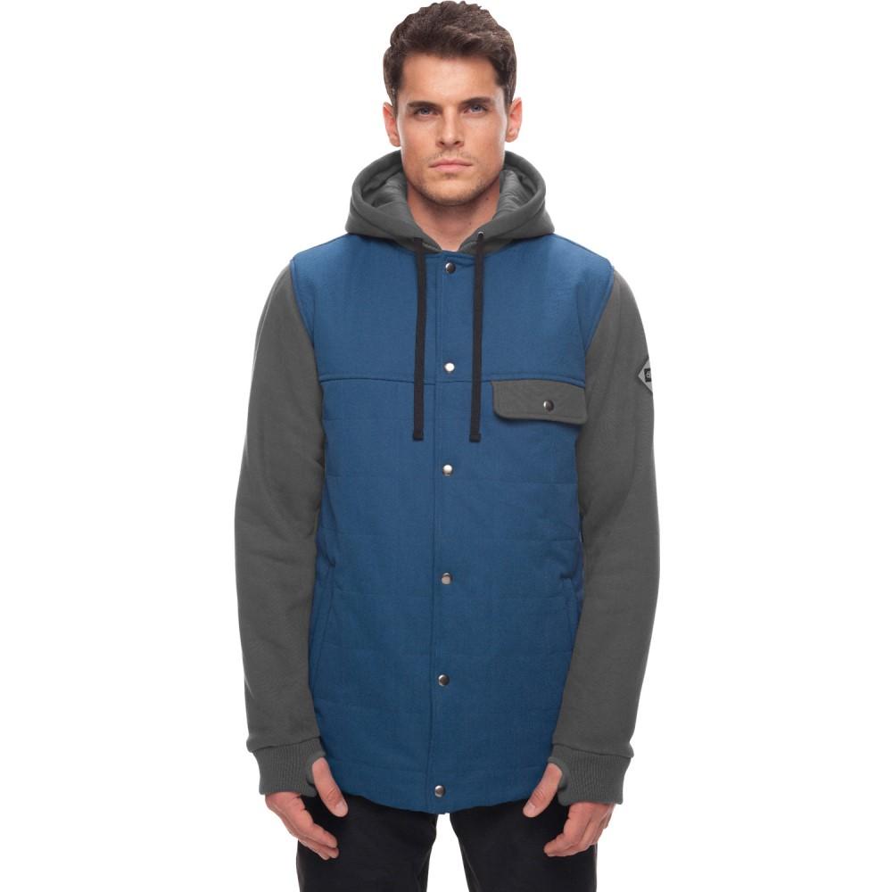 シックス エイト シックス メンズ スキー・スノーボード アウター【Bedwin Insulated Snowboard Jacket 2018】Dark Denim