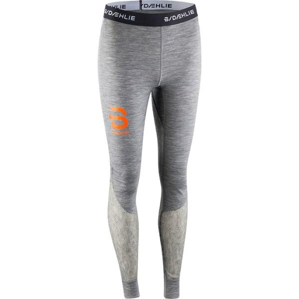 ビョルン ダーリ レディース スキー・スノーボード ボトムス・パンツ【Airnet Baselayer Pants 2018】Grey/ Orange