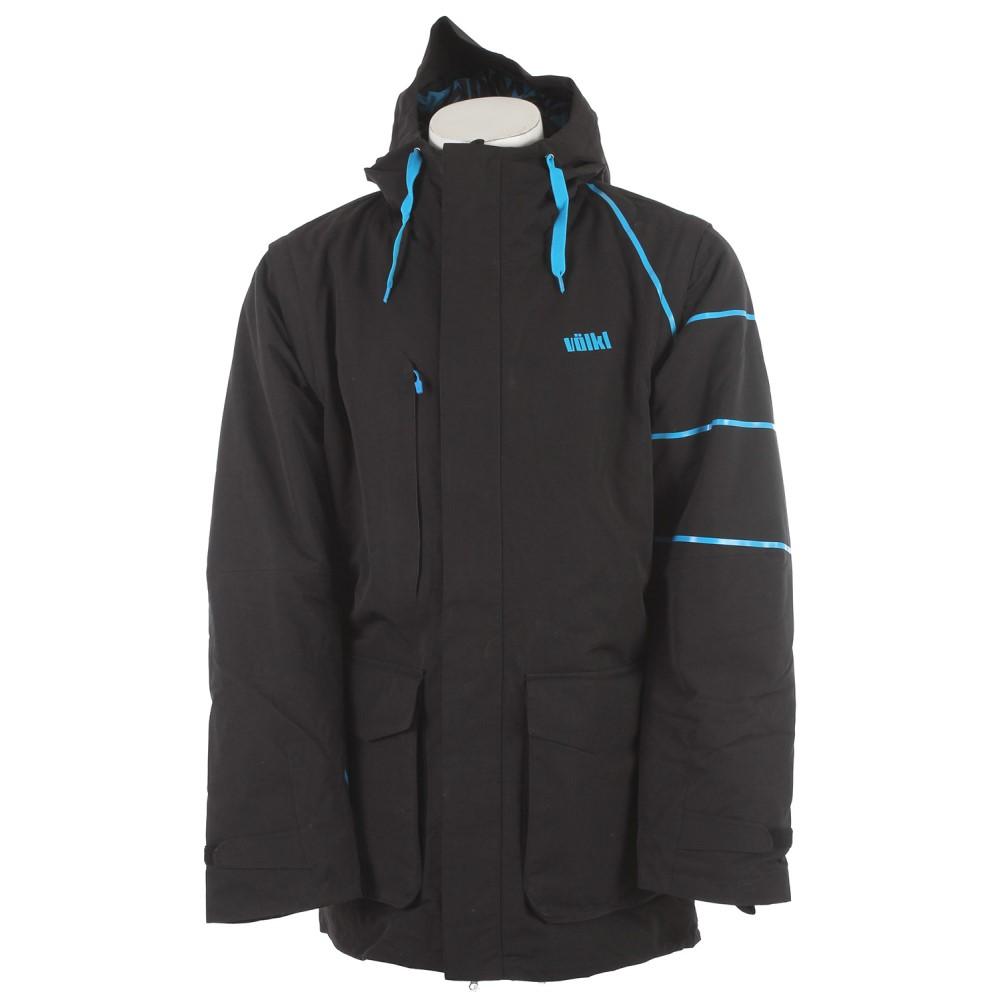 フォルクル メンズ スキー・スノーボード アウター【Triple 1440 Ski Jacket】Black Knight